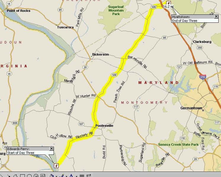 Sixth Corps To Gettyburg Modern Maps