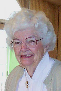 Irene B. Dobbs - August 17, 2003 - at her 90th birthday party